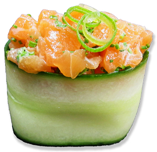 Foto Cucumber Salmon (Spicy)